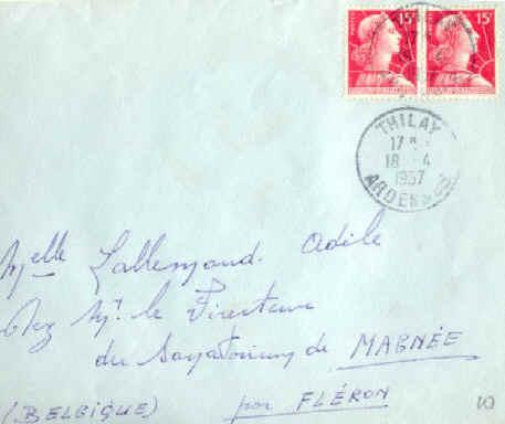 Tarif lettre la poste suisse